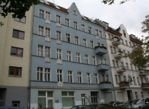 Residential and commercial building in Berlin-Friedrichshain